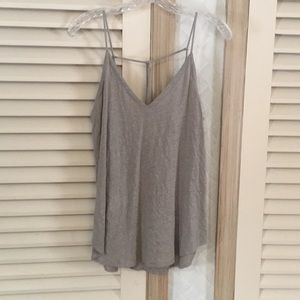 Chaser string back tank top knot